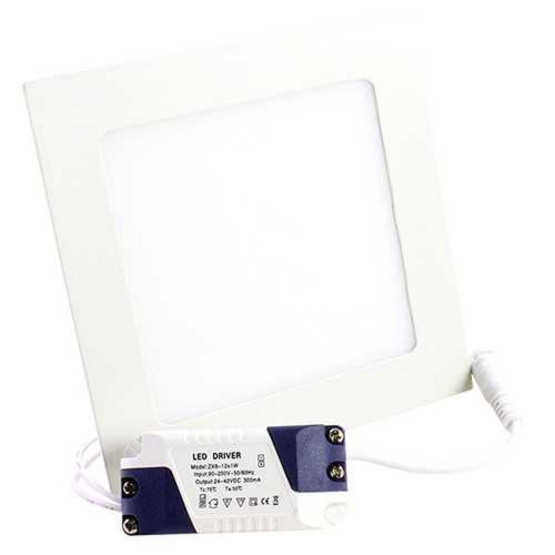 LED Panel Slim Square 12W Day Light