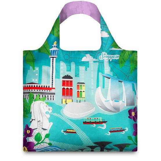 LOQI กระเป๋าผ้า รุ่น Singapore