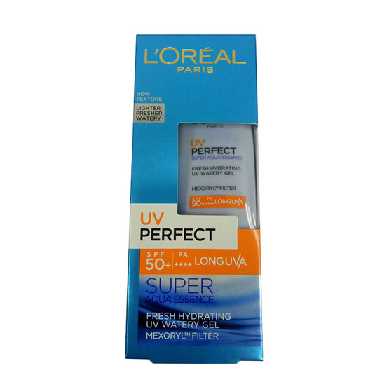 LOREAL PARIS DERMO EXPERTISE UV PERFECT AQUA ESSENCE SPF50 PA++++ 30 ML.