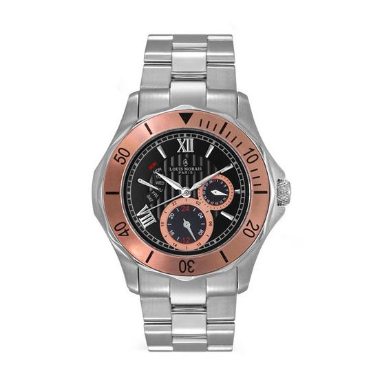 LOUIS MORAIS นาฬิกาข้อมือ รุ่น LMG901RG