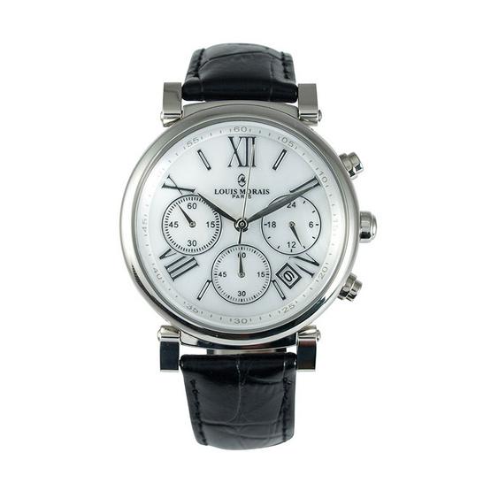 LOUIS MORAIS นาฬิกาข้อมือ รุ่น LMU375 SV