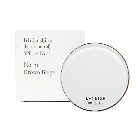 Laniege BB Cushion [Pore control] SPR 50+/PA+++#31 :15*2 g.