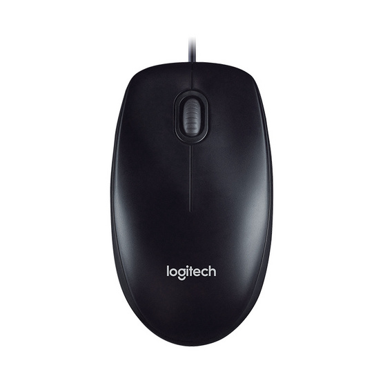 ซื้อ Logitech Mouse M100r Black