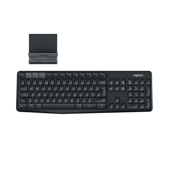 Logitech Multi-Device Wireless Keyboard K375s and Stand Combo รูบที่ 1