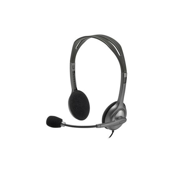 ซื้อ Logitech Stereo Headset H111 Black