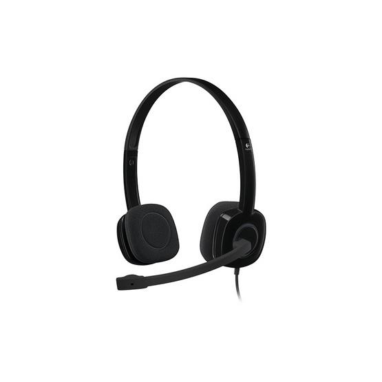 ซื้อ Logitech Stereo Headset H151 Black
