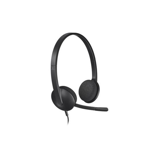 ซื้อ Logitech USB Headset H340 Black