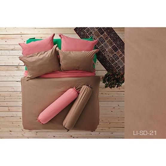 Lotus รุ่น Impression LI-SD-021 ผ้าปูที่นอน 5 ฟุต 5 ชิ้น + ผ้านวม 90x100