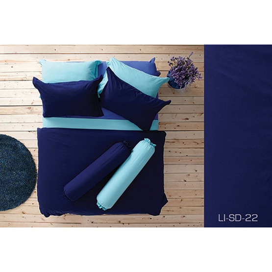 Lotus รุ่น Impression LI-SD-022 ผ้าปูที่นอน 3.5 ฟุต 3 ชิ้น + ผ้านวม 70x90