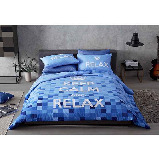 Lotus ผ้านวม + ผ้าปู Keep Calm รุ่น Relax