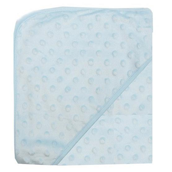 Luvena Fortuna ผ้าห่ม ผ้าห่อตัวจุดนูน สีฟ้า