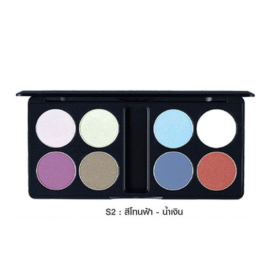 MTI Eyeshadow Palette Sign Collection 13.6g. #S2 สีโทนฟ้า-น้ำเงิน