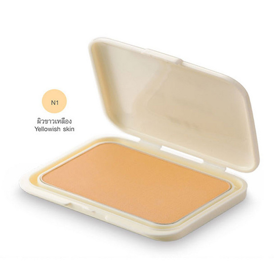 MTI Feel Perfect Compact Powder Foundation With Sunscreen REFILL 14.5g. #N1 ผิวขาวเหลือง