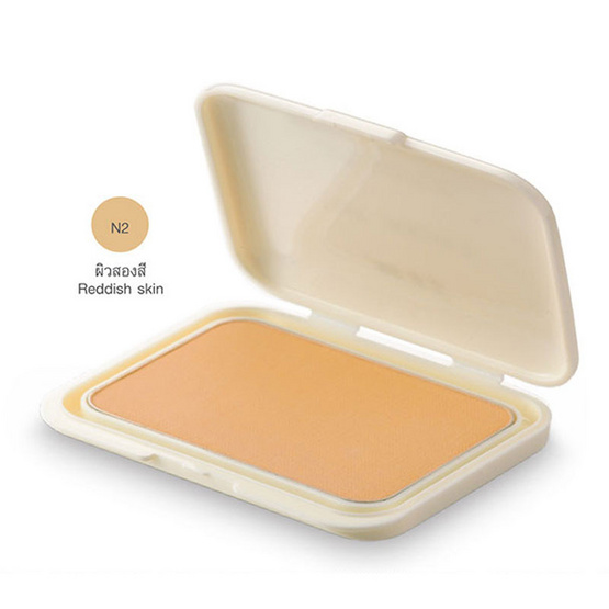 MTI Feel Perfect Compact Powder Foundation With Sunscreen REFILL 14.5g. #N2 ผิวสองสี