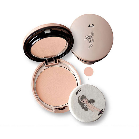MTI Joy One For all CC Foundation Cake Powder 12g. #ผิวขาวอมชมพู