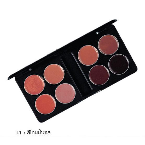 MTI Lipstick Palette Sign Collection 16g. #L1 สีโทนน้ำตาล