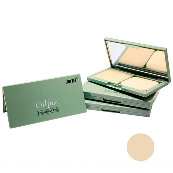 MTI Oil Free Foundation Cake Powder 20g. #N2 สีผิวสองสี