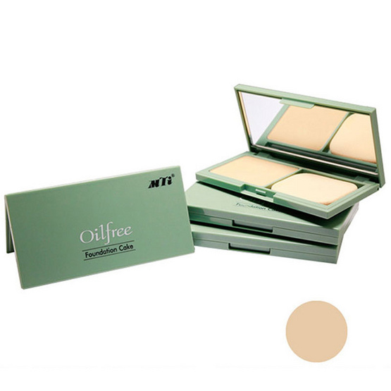 MTI Oil Free Foundation Cake Powder 20g. #N3 สีคล้ำ