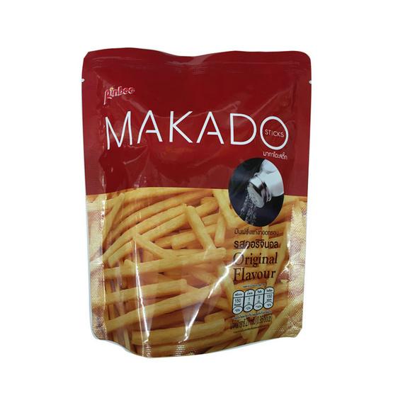 Makado มากาโดะ มันฝรั่งแท่งทอดกรอบ รสออริจินอล ขนาด 27 g. (6 ชิ้น)