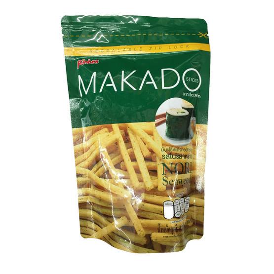 Makado มากาโดะ มันฝรั่งแท่งทอดกรอบ รสโนริสาหร่าย ขนาด 60 g. (3 ชิ้น)