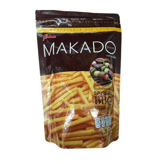 Makado มากาโดะ มันฝรั่งแท่งทอดกรอบ รสบาร์บีคิว ขนาด 60 g. (3 ชิ้น)