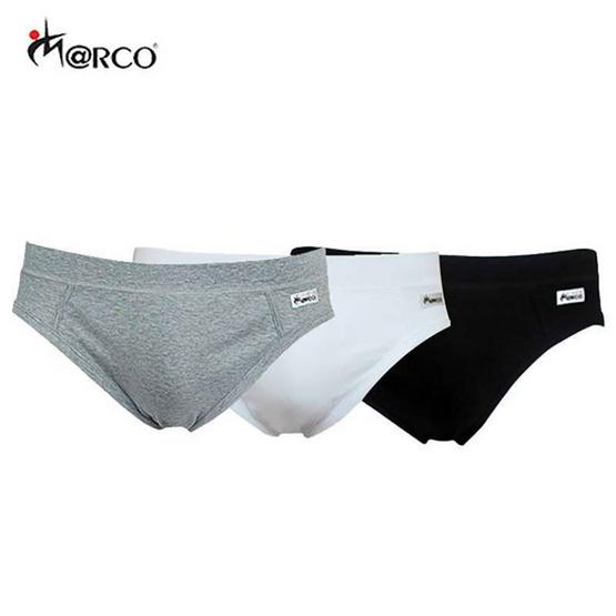 Marco กางเกงชั้นในชาย แพ็ค 3 (สีขาว/ดำ/เทา)