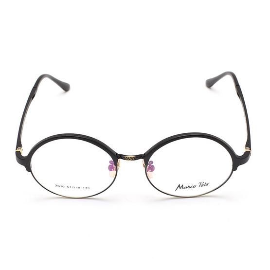 Marco Polo กรอบแว่นตา รุ่น EMN2610 C2 สีดำด้าน