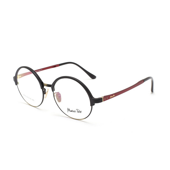 Marco Polo กรอบแว่นตา รุ่น EMN2610 C4 สีดำด้านแดง