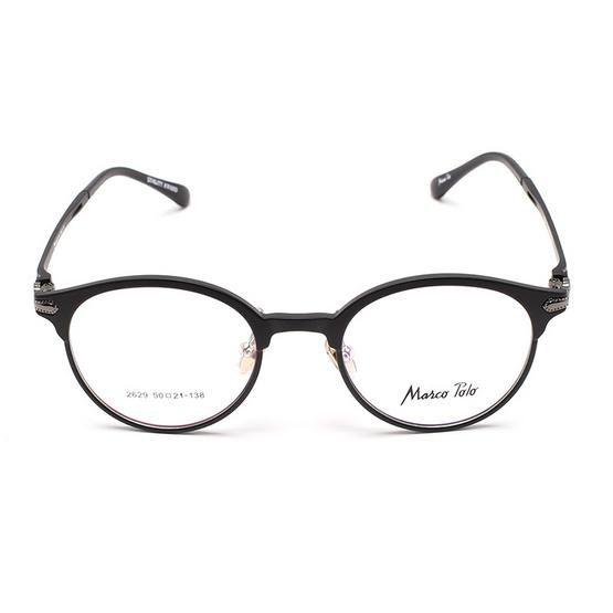 Marco Polo กรอบแว่นตา รุ่น EMN2629 C2 สีดำด้าน
