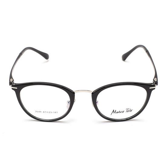 Marco Polo กรอบแว่นตา รุ่น EMN2649 C1 สีดำ