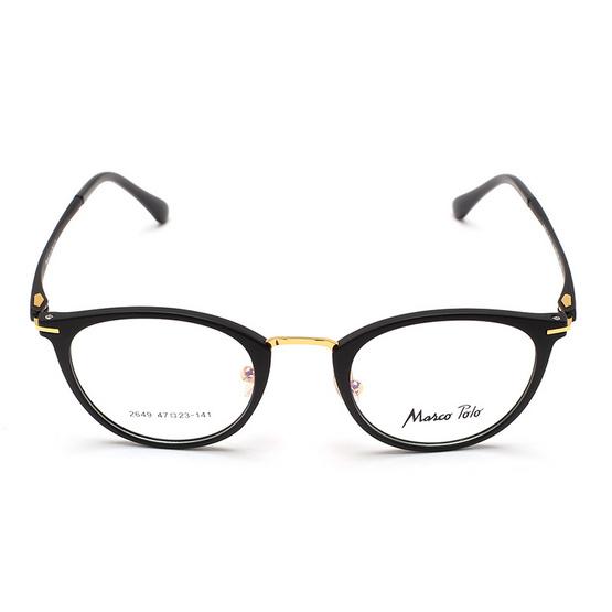 Marco Polo กรอบแว่นตา รุ่น EMN2649 C2 สีดำด้าน