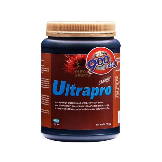 Mega We Care ULTRAPRO (CHOCOLATE) เวย์โปรตีนสูตรครบถ้วน บรรจุ 900 กรัม