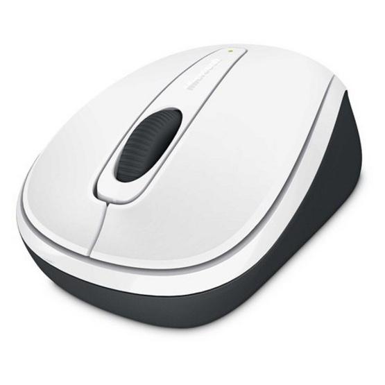 Microsoft Wireless Mobile Mouse3500 BlueTrack White Gloss