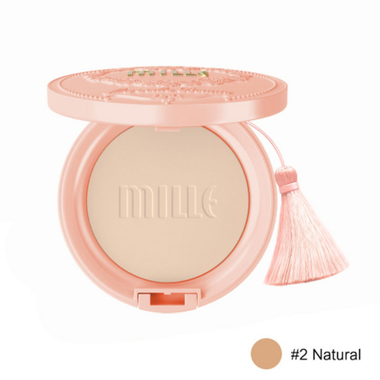 Mille Aura Pearl Pact Powder SPF25 PA++11G. #2 Natural