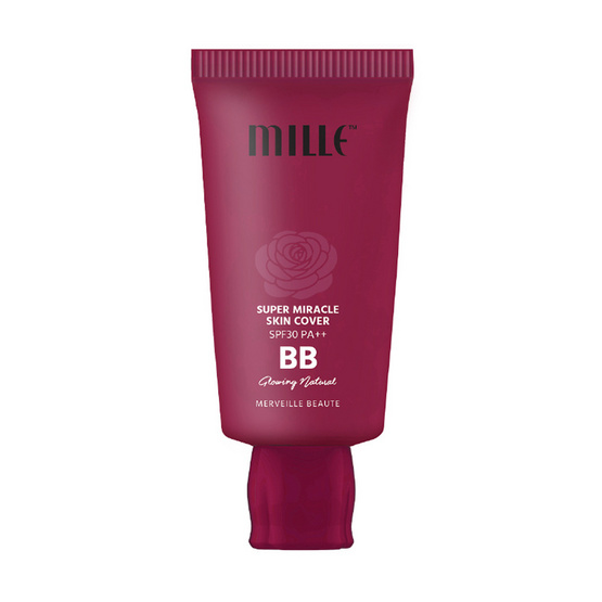Mille BB Cream Super Miracle Skin Cover No.2 Glowing รูบที่ 1