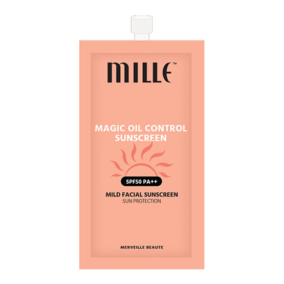 Mille Magic Oil Control Sunscreen SPF 50 PA++ #7g รูบที่ 1