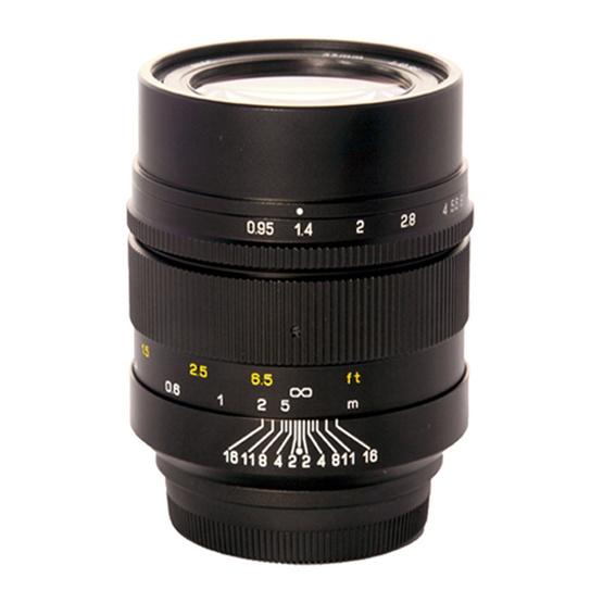 Mitakon Lens 35mm. F0.95Fuji X