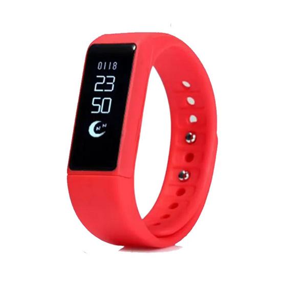 Moov นาฬิกาสุขภาพอัจฉริยะ รุ่น i5 Plus Activity Tracker สีแดง