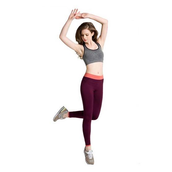 Move กางเกงออกกำลังกาย สีแดง