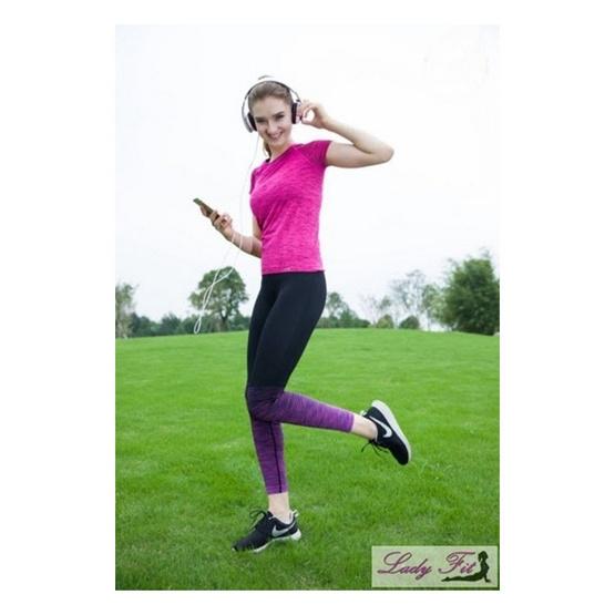 Move กางเกงออกกำลังกายกระชับสัดส่วน สีม่วง
