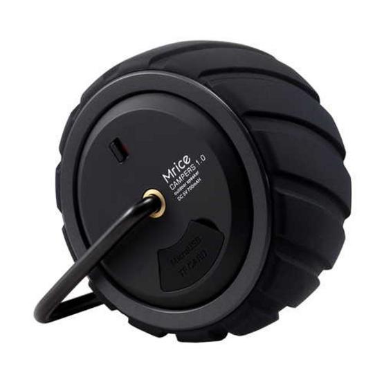 Mrice ลำโพง รุ่น Campers 1.0 ลำโพงพกพา รองรับ Bluetooth Black
