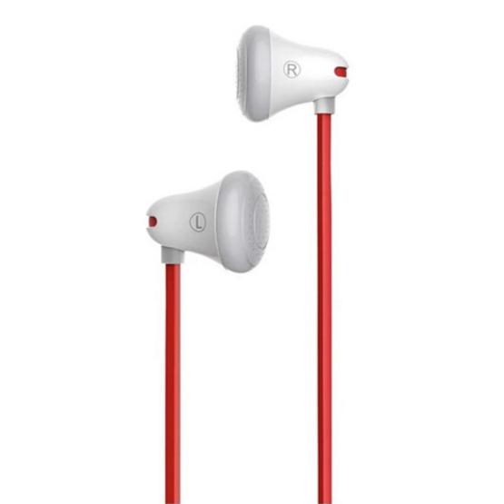 Mrice หูฟัง รุ่น E100 3.5mm Stereo Music In-Ear Headset Earphone White
