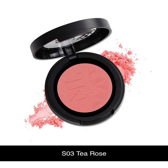 Pantip !! Nario Llarias Blusher 3.9 g. #S03 Tea Rose - Nario llarias, ผลิตภัณฑ์ความงาม