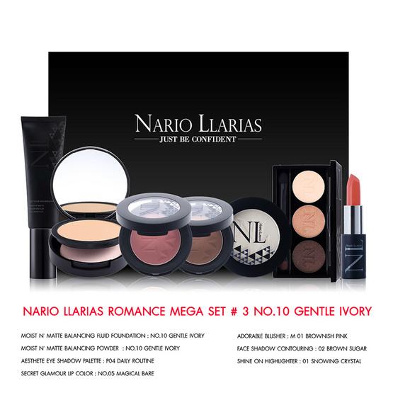 ราคาถูก !! Nario Llarias Romance Mega Set #3 No.10 Gentle Ivory - Nario llarias, ผลิตภัณฑ์ความงาม