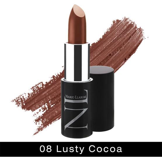 ซื้อ Nario Llarias Secret Glamour Lip Color 4.2 g. #08 LUSTY COCOA