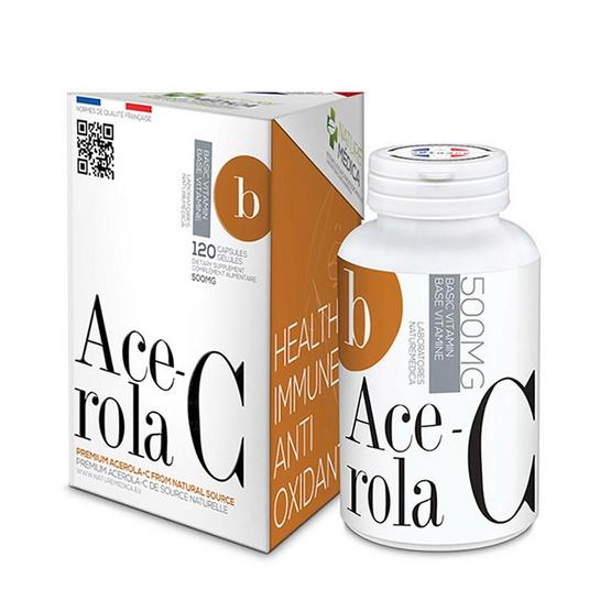 Naturemedica Ace-rola C อะเซโรลาเชออรี่สกัด บรรจุ 120 แคปซูล