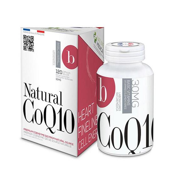 Naturemedica Natural CoQ10 โคเอนไซม์คิวเท็น บรรจุ 120 แคปซูล
