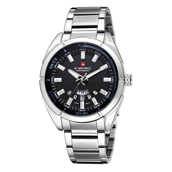 Naviforce watch NF9038M Black Silver