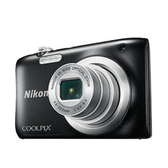 Nikon Camera COOLPIX A100 Black