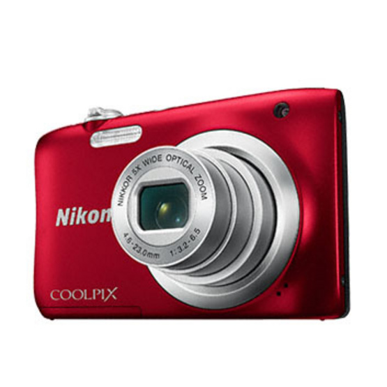 Nikon Camera COOLPIX A100 Red